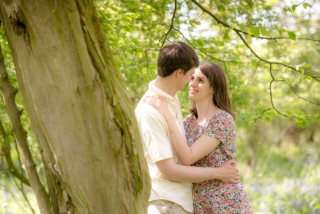 Milling Barn Engagement Shoot