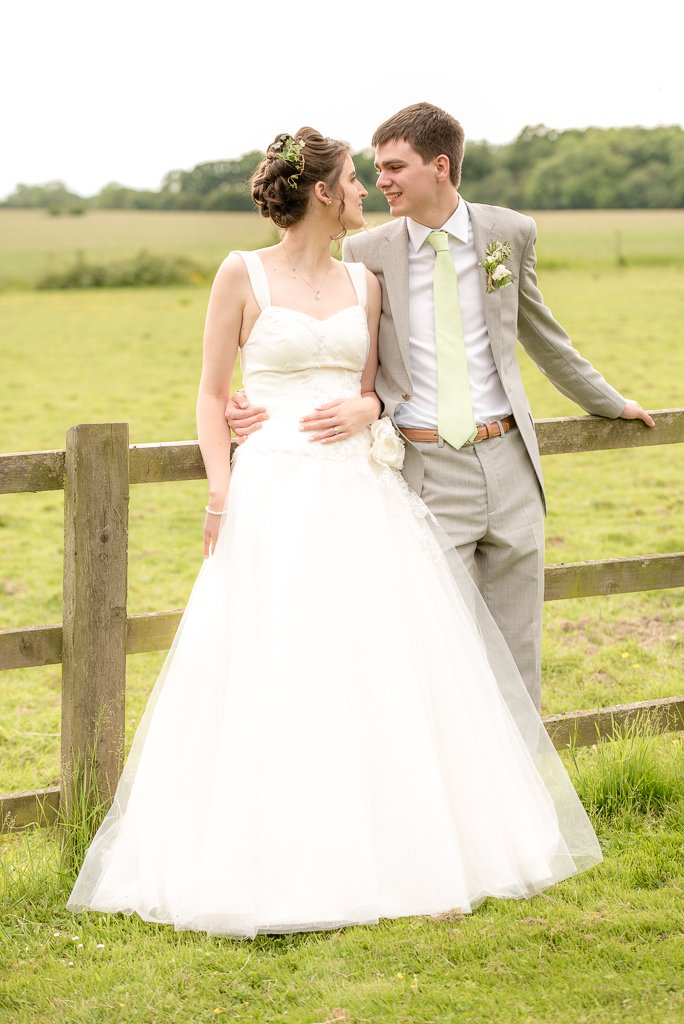 bridal portraits at milling barn
