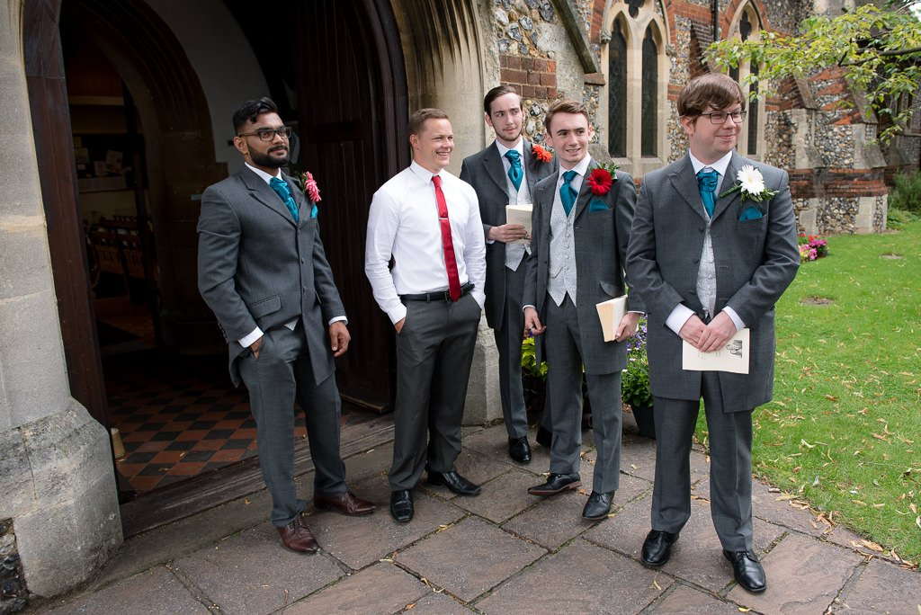 The Ushers at Stevenage Church