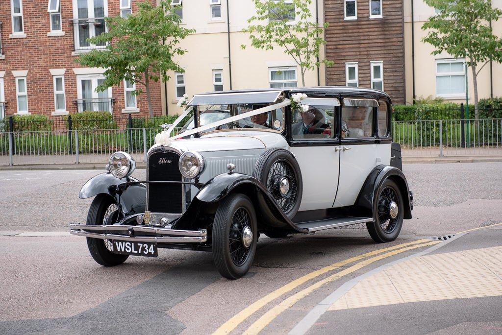 Milling Barn Wedding Car