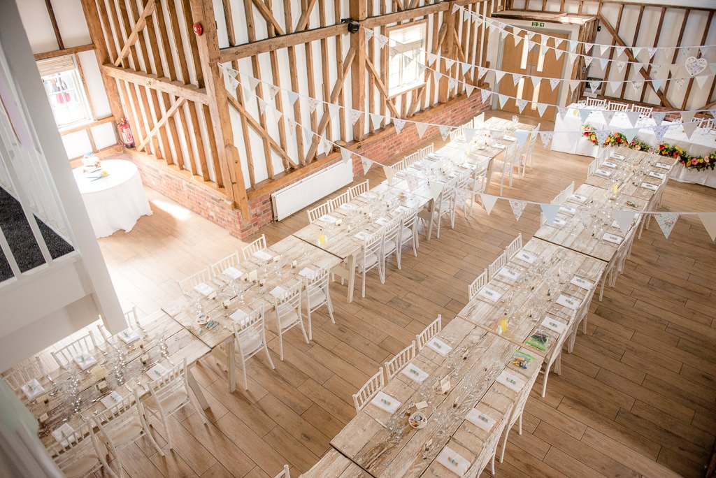 Milling Barn Tables