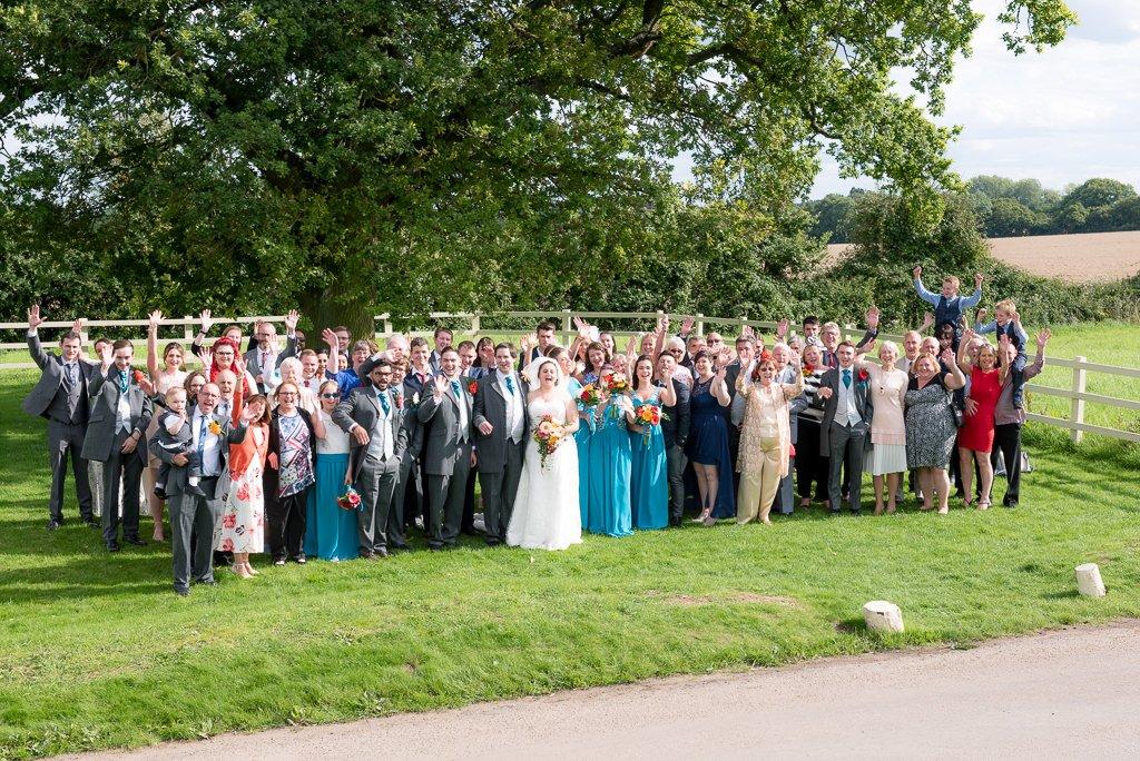 Group photo at Milling Barn