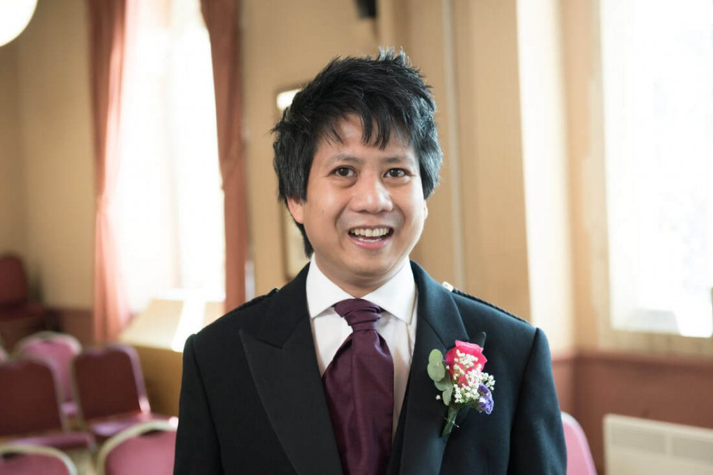 The Groom at Berkhamsted town hall