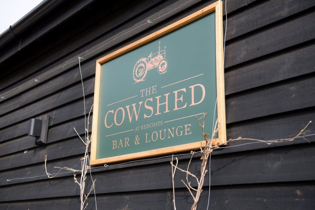 The cowshed at redcoats farmhouse