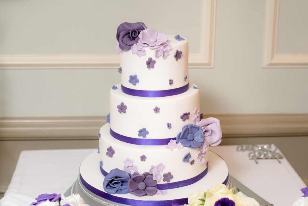 The Wedding Cake at the Cromwell Hotel Stevenage