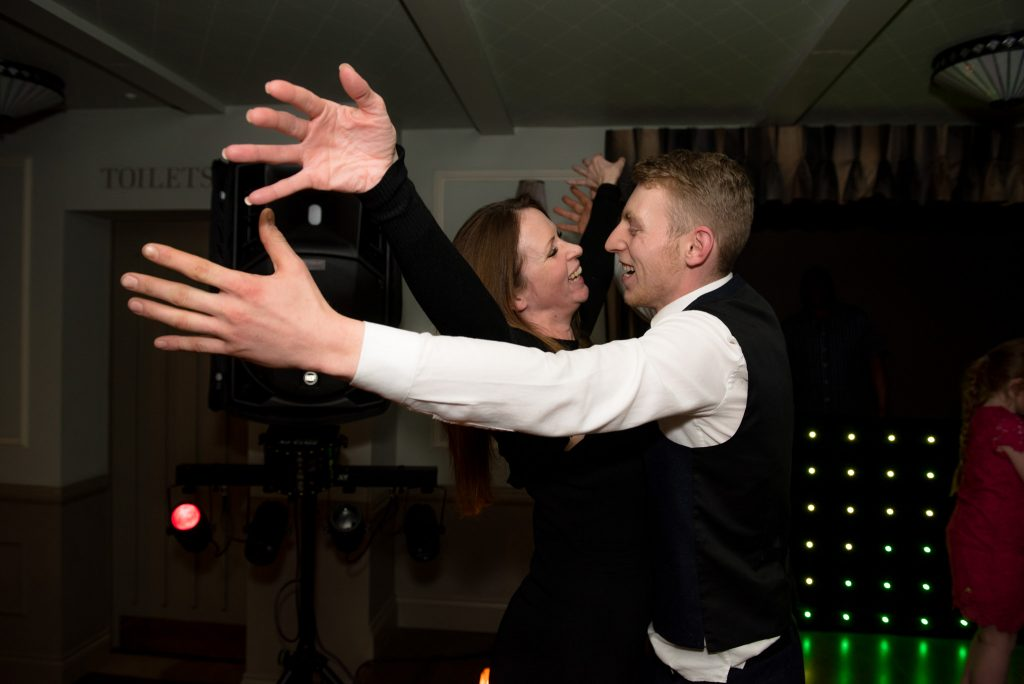 Guests dance together at the cromwell hotel stevenage