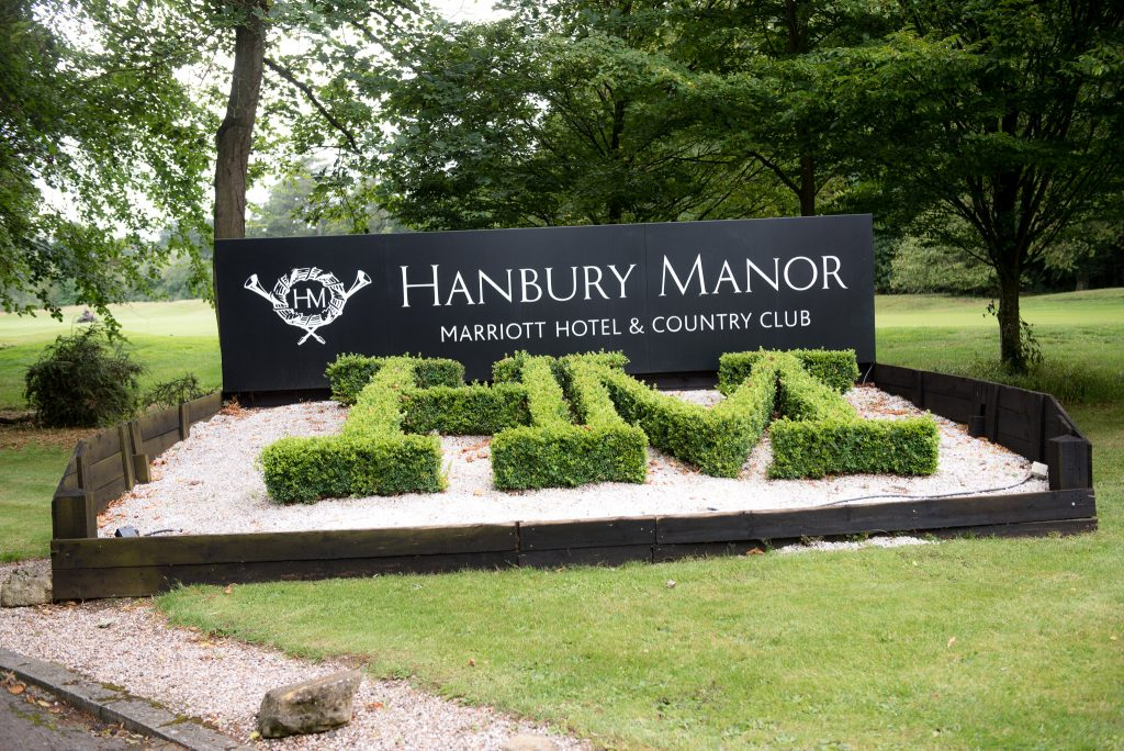 Hanbury Manor Wedding Venue