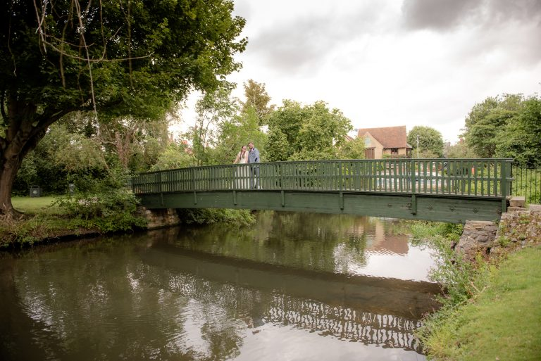 The bridge by Hertford Castle