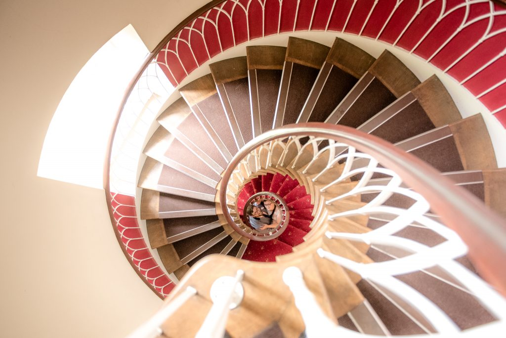 Hertford Castle Staircase
