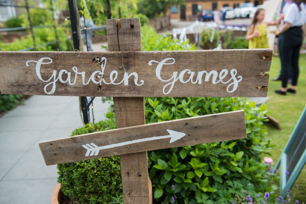 Garden games available to hire