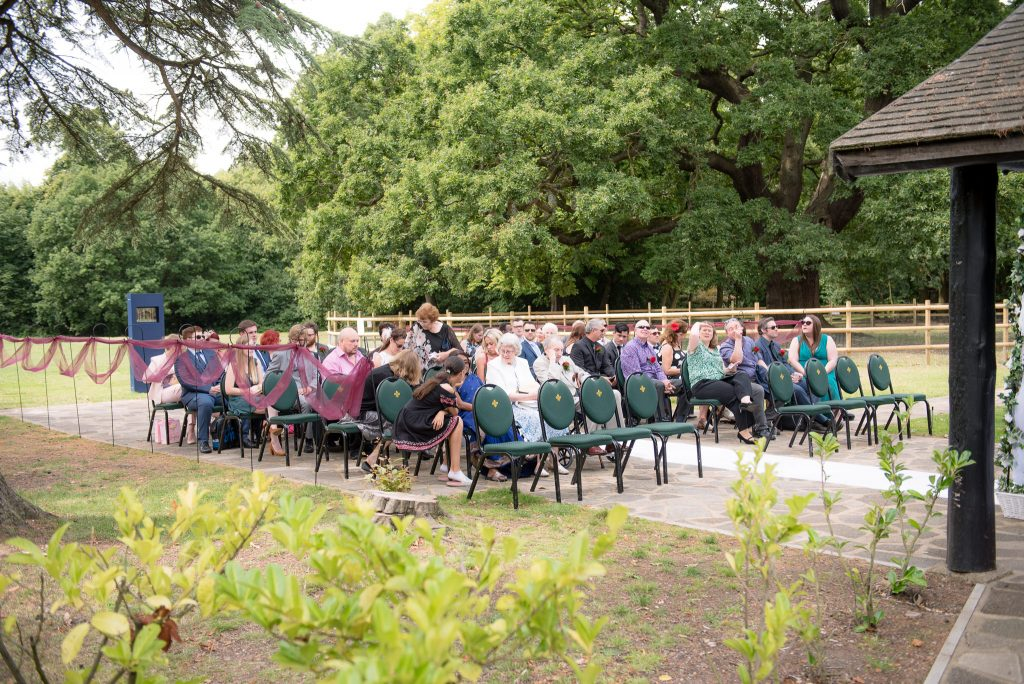 Gilwell Park Wedding with Guests