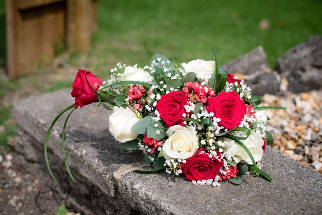 Bridal bouquet of flowers