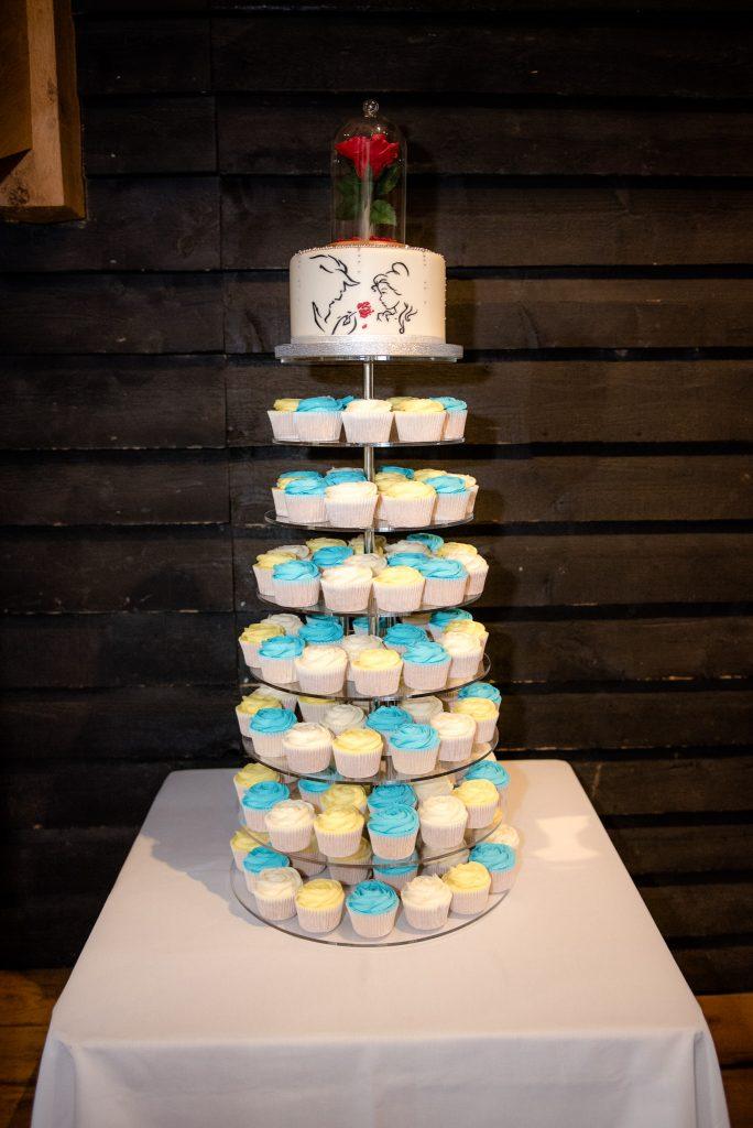 The Disney Themed Wedding Cake