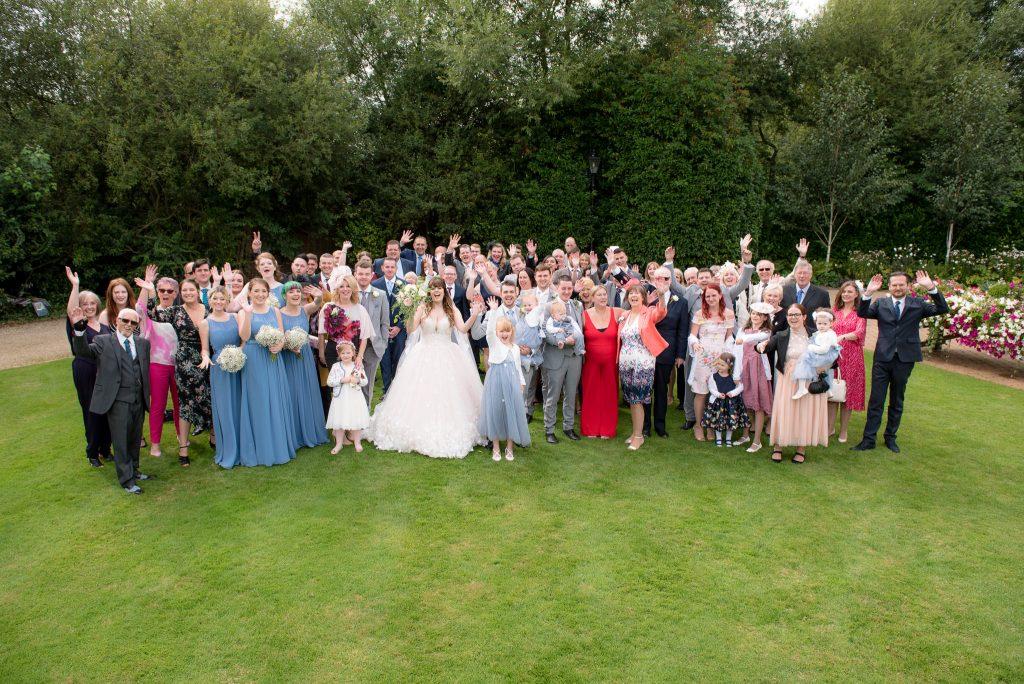 Group photograph at Tewin Bury Farm