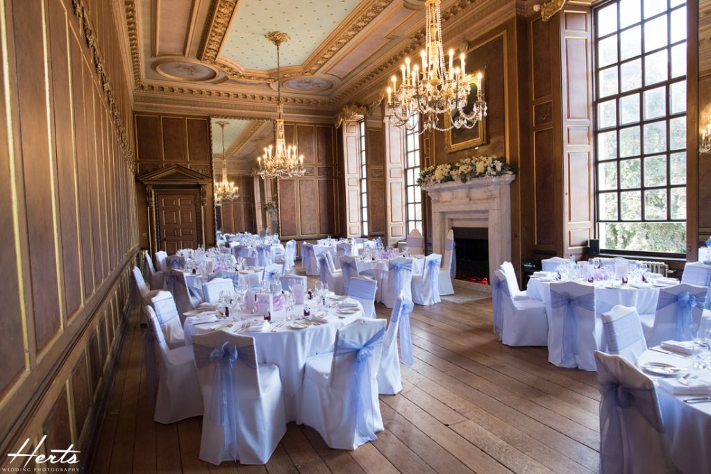 The stunning room inside Gosfield Hall