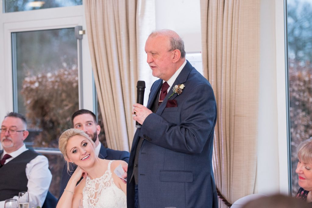 The father of the bride speech