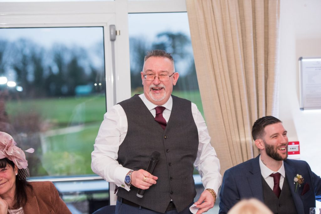 Father of the groom speech