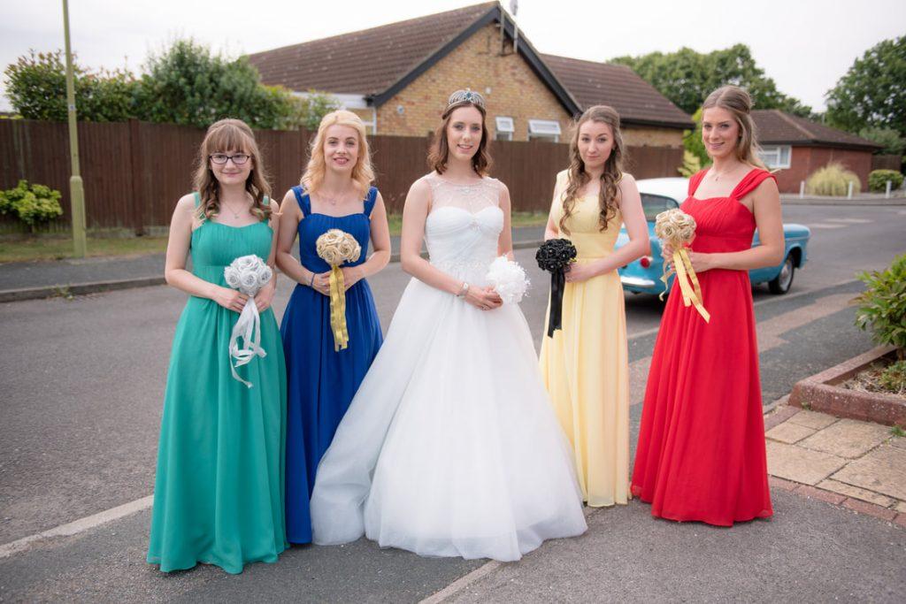 The bridal crew