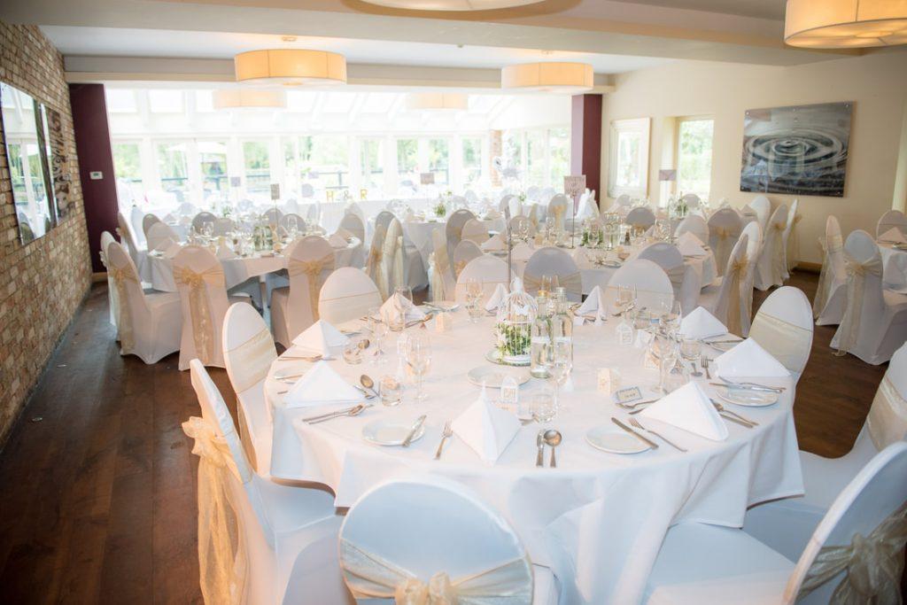 The reception at great hallingbury manor