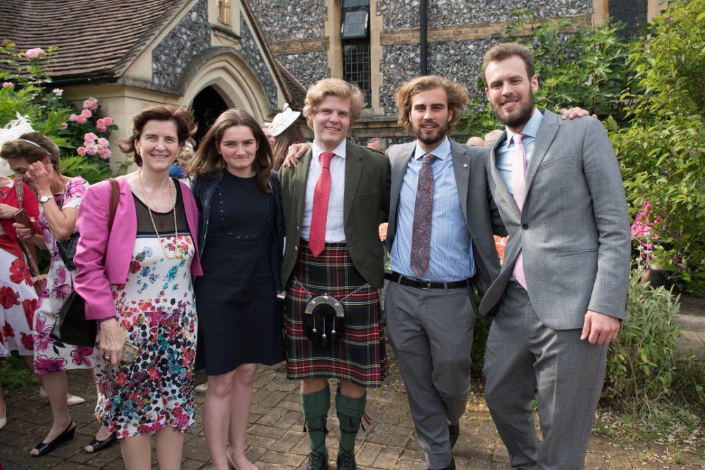 Group shots at Hertford church