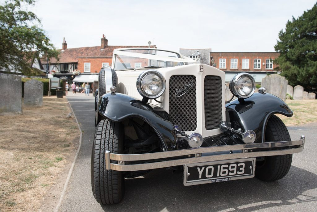 Beauford wedding car in Hitchin