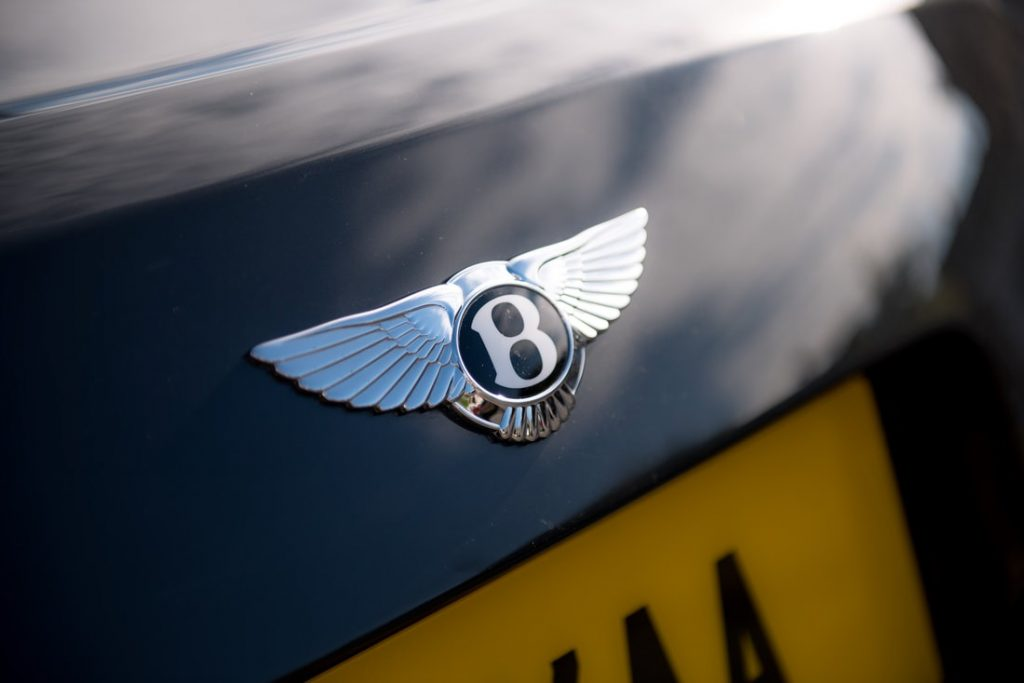 Bentley car badge