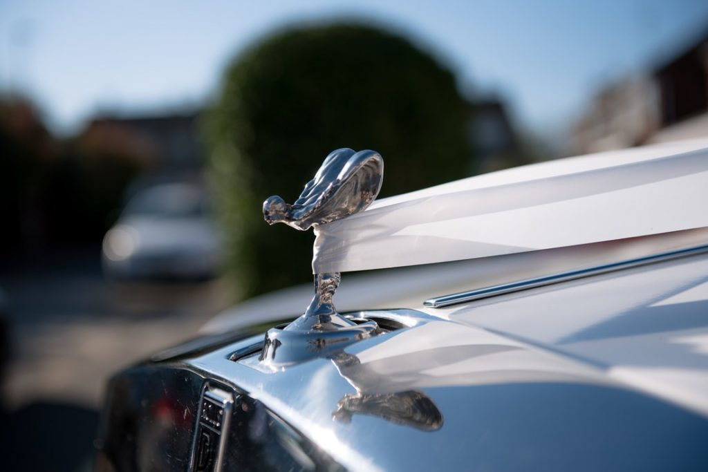 Rolls Royce Ornament