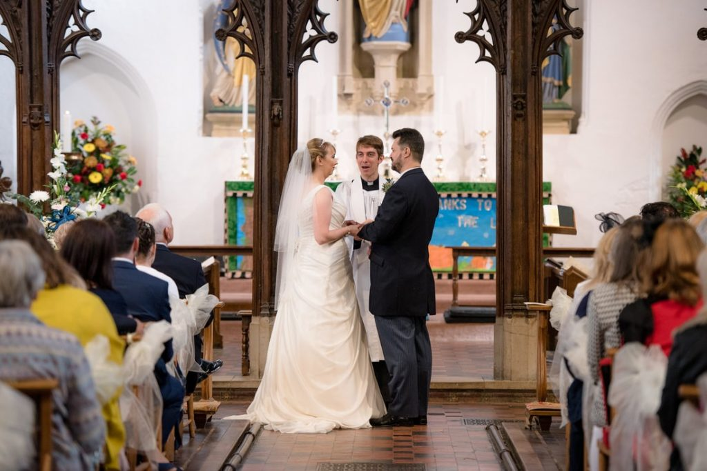 The exchange of vows