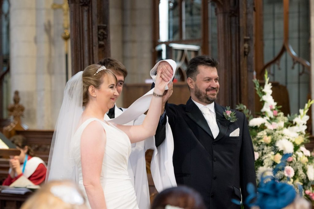 tying the knot at the church
