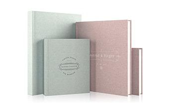 Luxe Linen Wedding Album