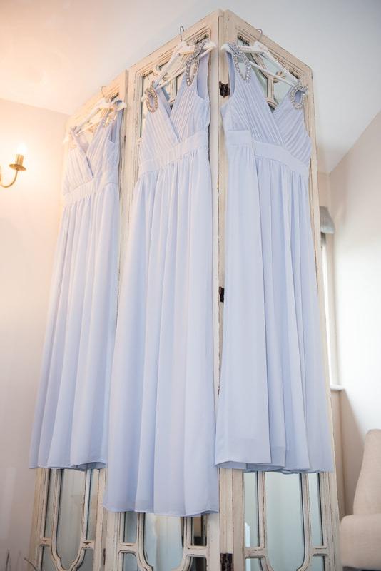 Bridesmaid dresses Milling Barn Wedding Photographer