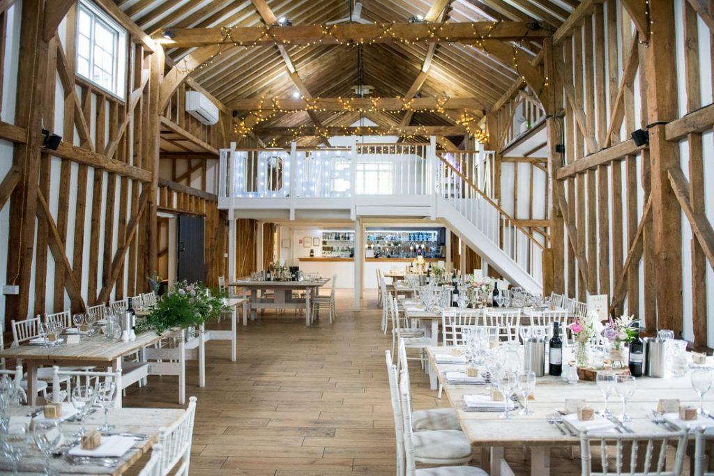 Inside Milling barn