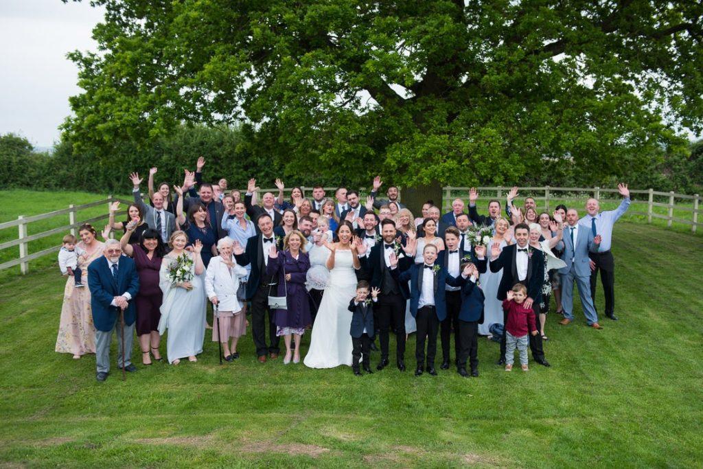Milling Barn Group Wedding Photographer