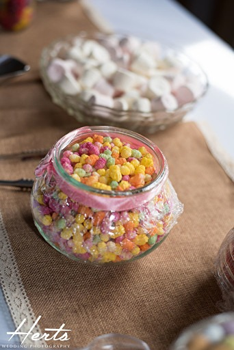 A bowl of sweets at milling barn