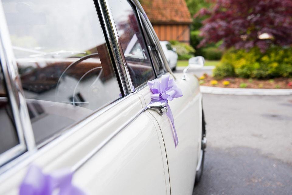 MK II Jaguar Wedding Car