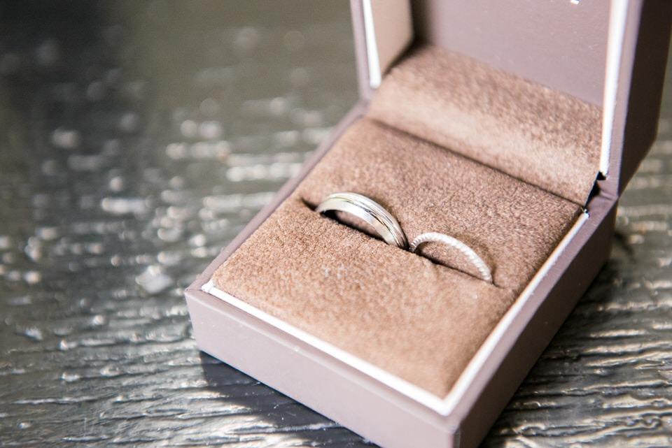 The wedding rings