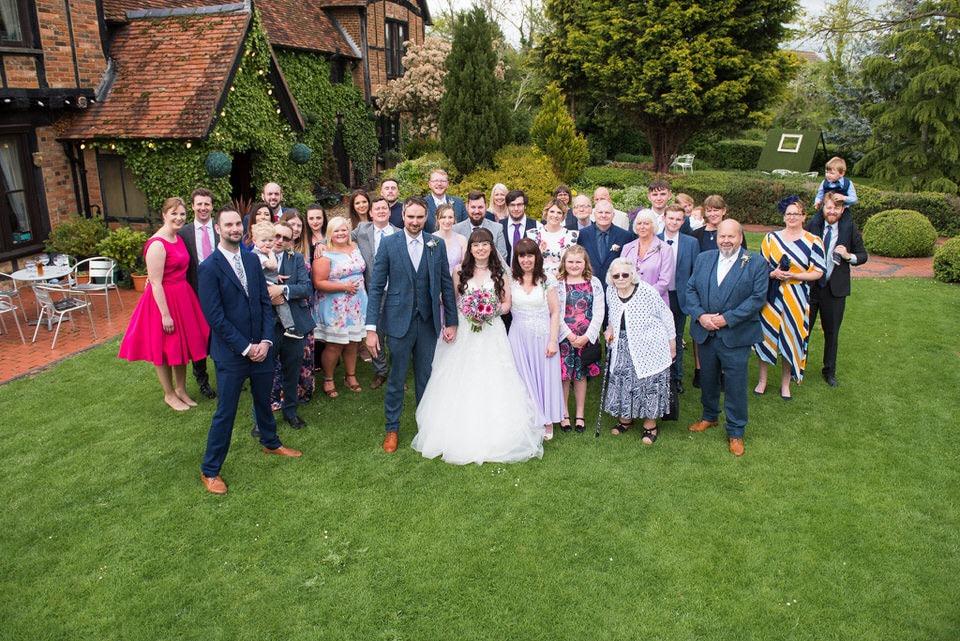 Group shot at Moreteyne Manor