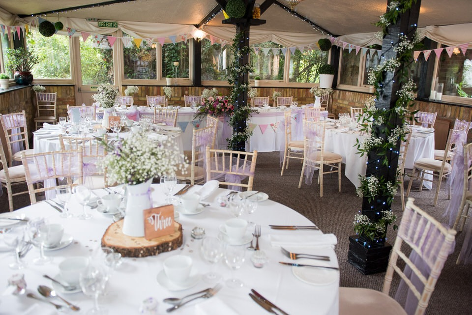 Inside moreteyne manor wedding venue