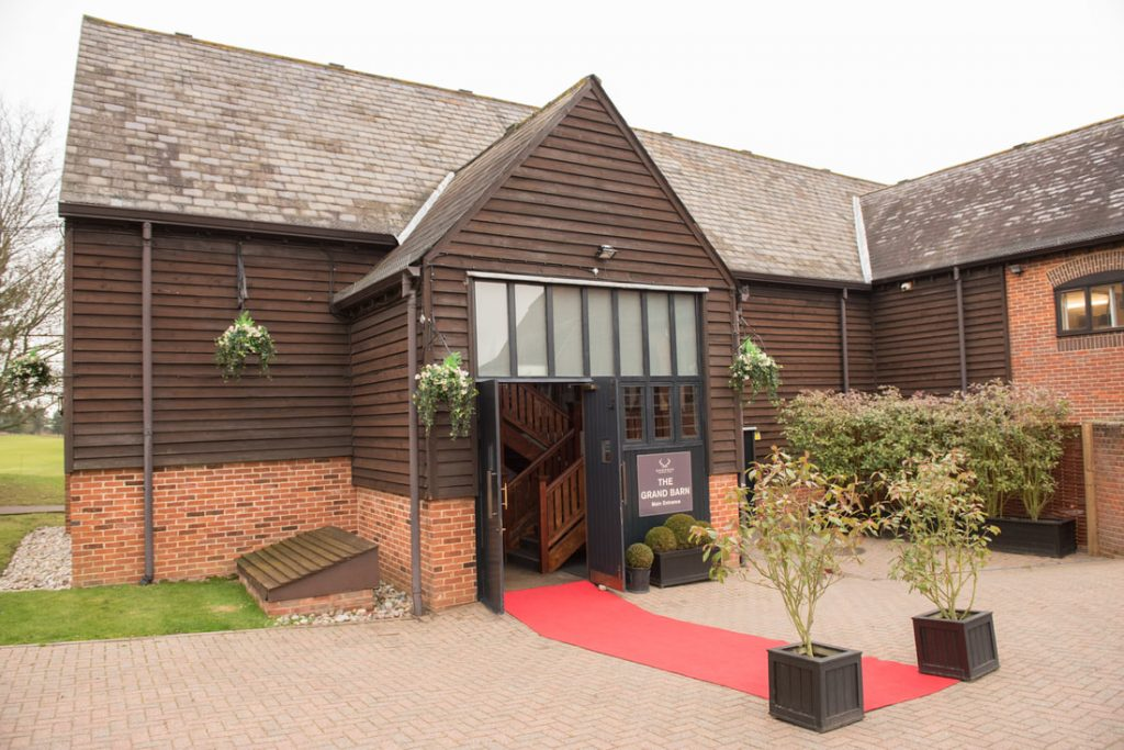 The front of the Essendon Country Club Weddings Venue