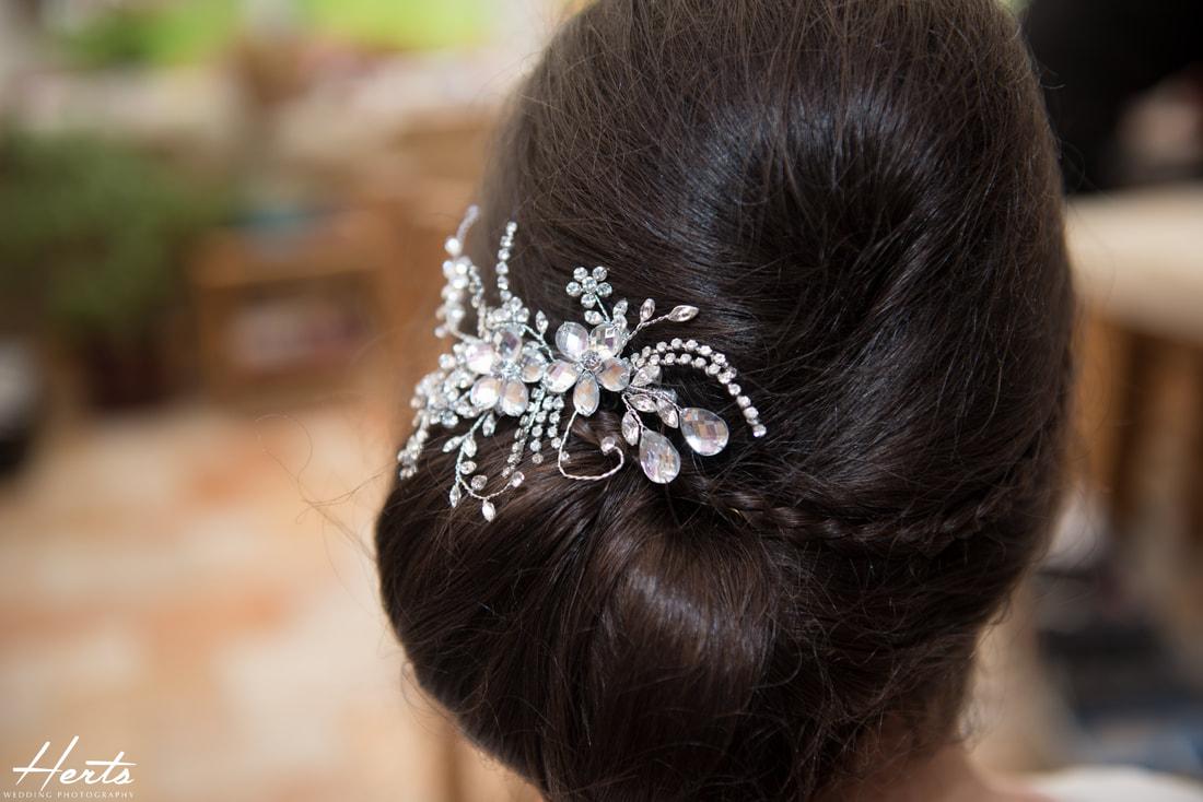 The stunning headpiece