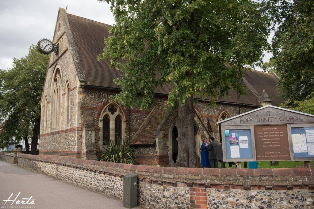 The holy trinity church in Stevenage