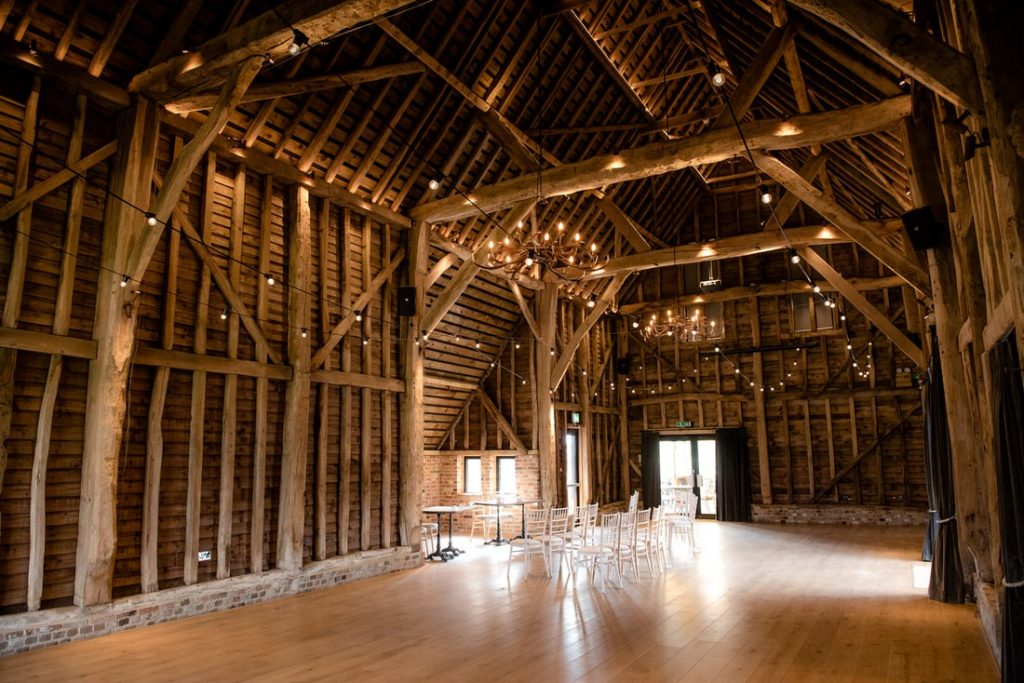 Inside of the redcoats barn