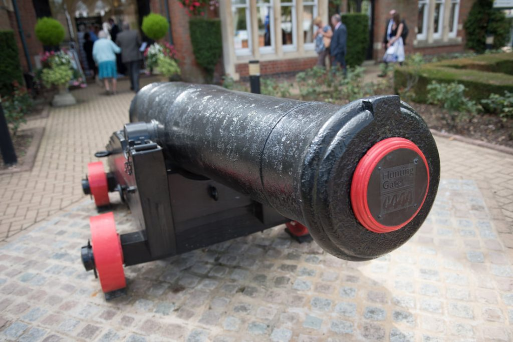 St Albans Registry Office Cannon