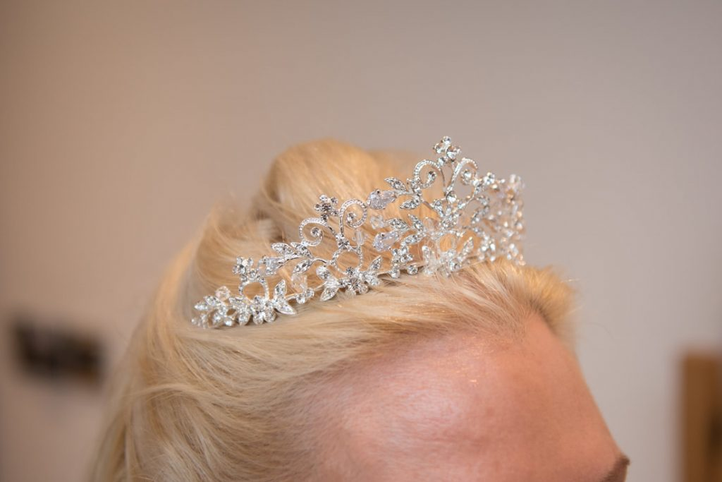 The brides hairpiece