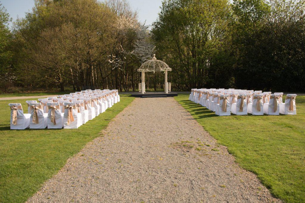 Theobalds Estate Wedding Ceremony