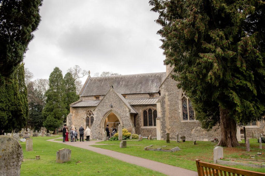 St Helens Church in Wheathampstead