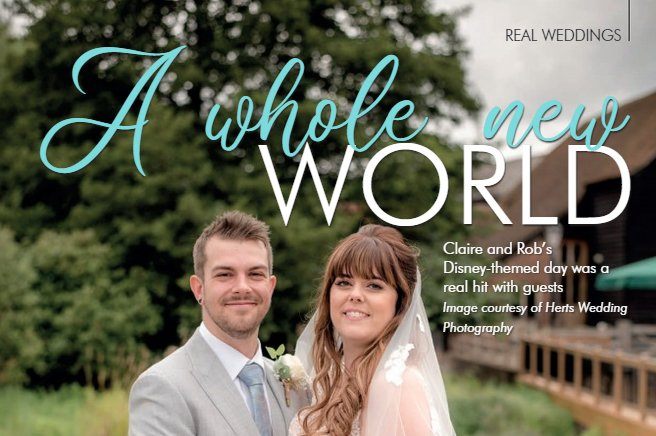 Your Herts & Beds Wedding Magazine