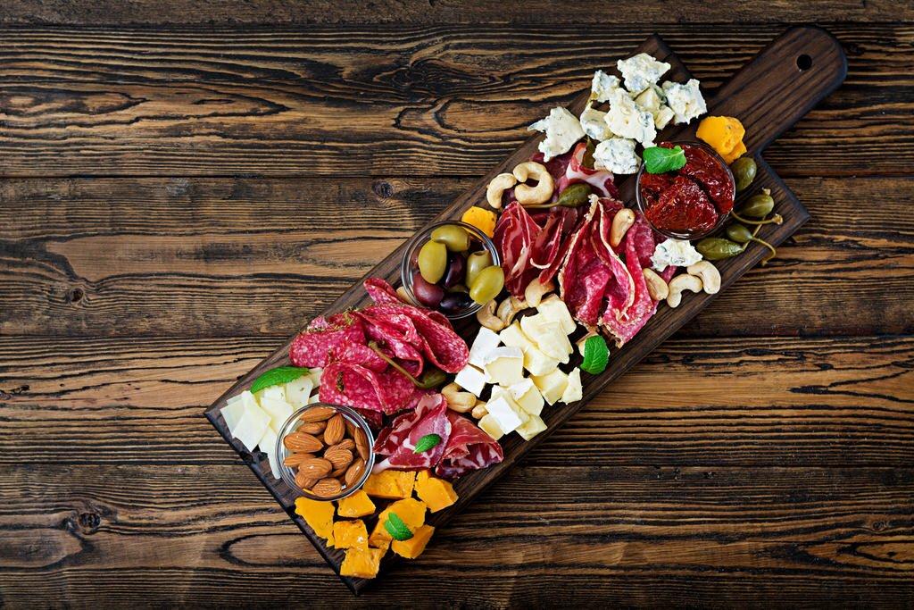 Wedding Food Board