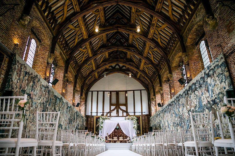weddings at hatfield house