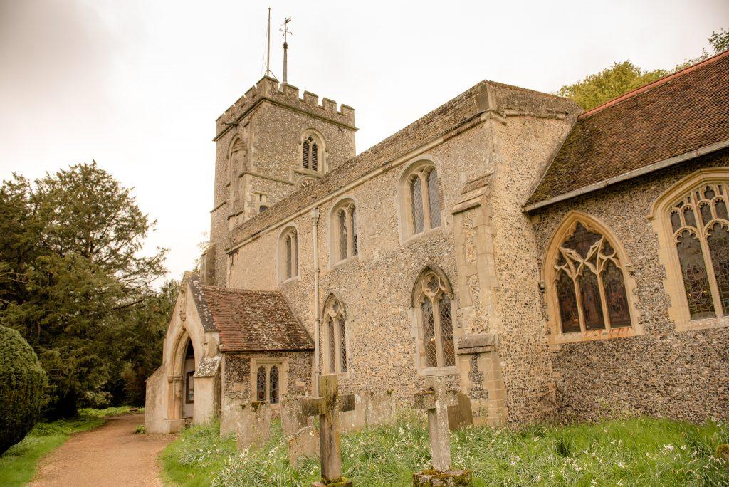 The church of st peter benington